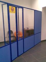 перегородка для торгового отдела или офиса