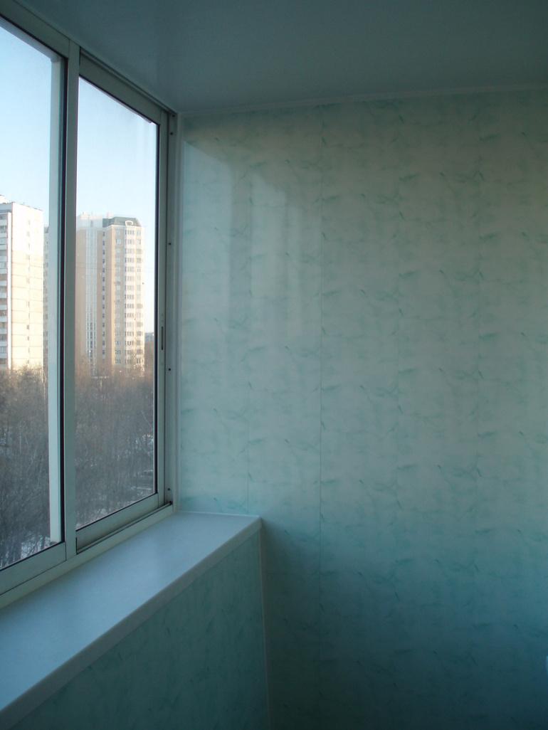 Балконы и лоджии - до и после отделки.