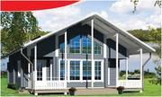 Каркасные дома: строительство и чистовая отделака под ключ