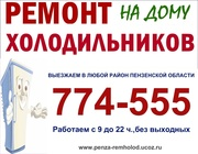 Ремон холодильников в Пензе т.25-63-83