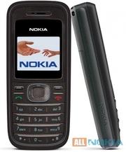 Стильный Nokia 1208 отображающий 65 тыс. цветов
