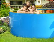 Бассейн каркасный бортовой диаметр 3.4м высота борта 1.25м