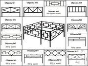 Металлические ритуальные ограды: