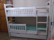 кровати из массива для детей