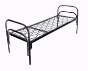 Бюджетные кровати металлические со сварными сетками