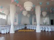 Оформление свадеб воздушными шарами в Пензе. Композиции из цветов.